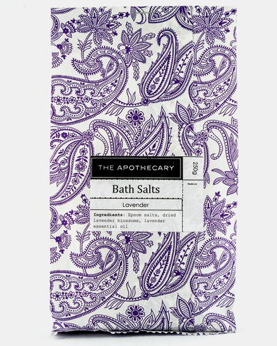 The Apothecary Lavender Bag Bath Salts