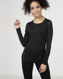 Utopia Running Top Black