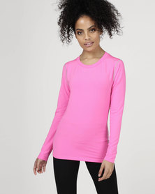 Utopia Running Top Pink