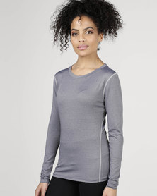 Utopia Running Top Grey