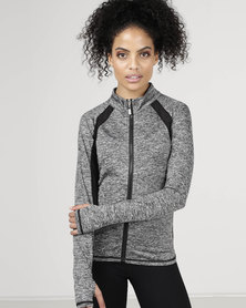 Utopia Zip Up Jacket Grey