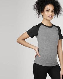 Utopia Two Tone Running Shirt Grey