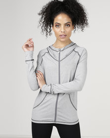Utopia Favourite Jacket Charcoal Melange