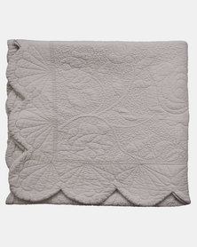 Linen House Sharol Coverlet Taupe
