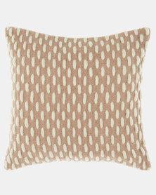 Linen House Vaughn Scatter Cushion Maple