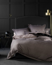 Linen House Serena Duvet Cover Grey