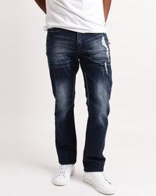 Soviet M Spurs 9 Slim Leg Jeans Indigo