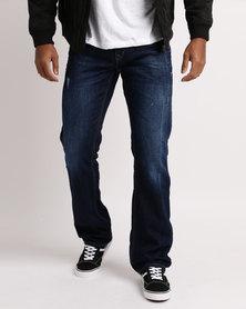Soviet M Bray #12 Straight Leg Jeans Indigo