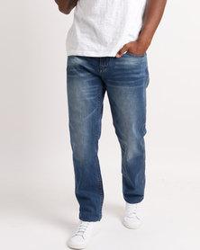 Soviet M Watford 12 Straight Leg Jeans Indigo
