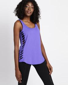 FIT Gymwear Twisted Sister Royal Blue
