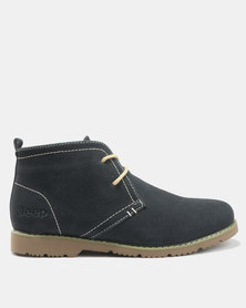 Jeep Galleon Boots Navy
