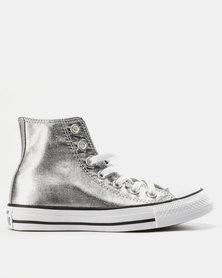 Converse Chuck Taylor All Star Hi Tops Silver