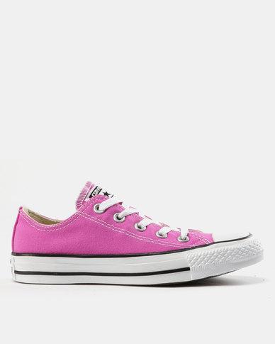 5db46f96e4a2 Converse Chuck Taylor All Star Sneakers Ox Hyper Magenta