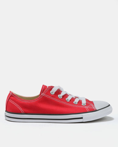59828b713c0 Converse Chuck Taylor All Star Dainty Ox Sneakers Varsity Red