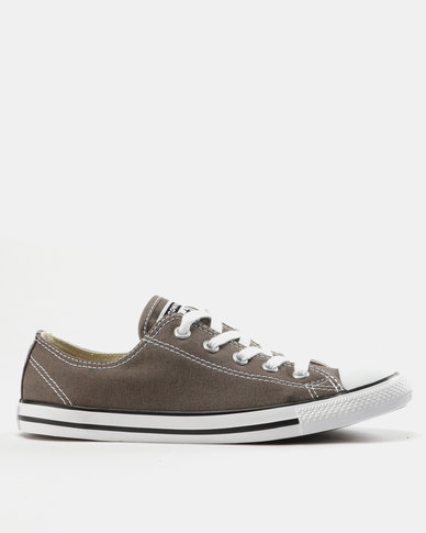 Converse Chuck Taylor All Star Dainty Sneakers Ox Charcoal  504b7abff
