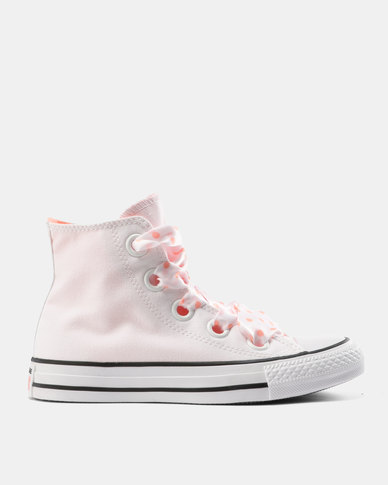 Converse Chuck Taylor All Star Eyelets Hi Tops Ox White/Crimson/Black