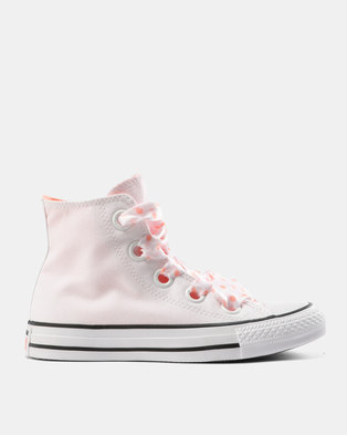 cbcce1b6551855 Converse Chuck Taylor All Star Eyelets Hi Tops Ox White Crimson Black