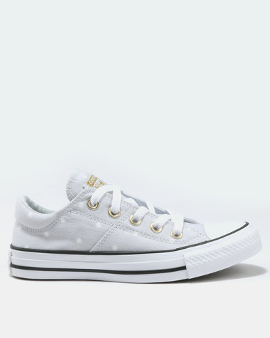 bfffa7ffb449 Converse Chuck Taylor All Star Madison Ox Sneaker Pure Platinum Gold White