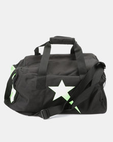Soviet Castle Travel/Tog Bag Black/Lime Green