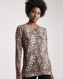 cath.nic By Queenspark Animal Printed Knitwear Multi