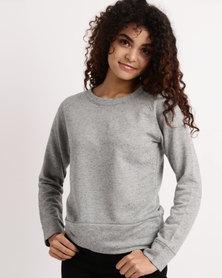 Lizzy Celinda Ladies Sweater Grey