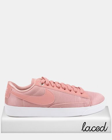 640dbec5fcb96 Nike Blazer Low SE Sneakers Rust Pink | Zando