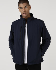 Fruit of the Loom Soft Shell Jacket French Navy