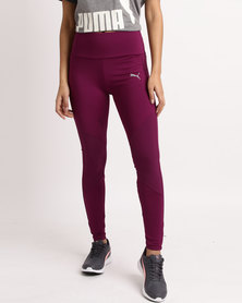Puma Transition 7 8 Womens Leggings Dark Purple