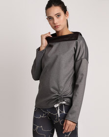 MOVEPRETTY The Hey Pretty Top Grey