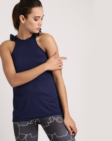 MOVEPRETTY The Fall In Love Tank Navy