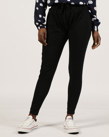 Silent Theory Joggers Black