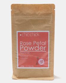 Chic Chick Rose Petal Hair and Skin Powder 100g
