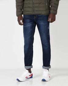 Dickies Cleveland Slim Denim Jeans Dark Wash