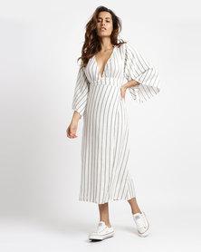 Billabong Robe Life Midi Dress White