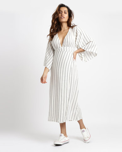 45698d58954fc Billabong Robe Life Midi Dress White   Zando