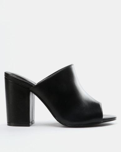 ffab7910aea Bata Ladies Block Heel Sandals Black