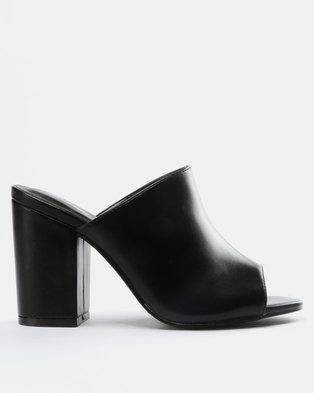 9182f4cdb15 Bata Ladies Block Heel Sandals Black