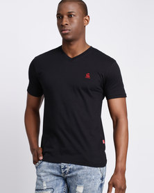Cutty CCable Mens T Shirt Black