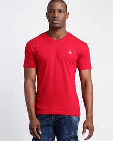 Cutty CCable Mens T Shirt Red