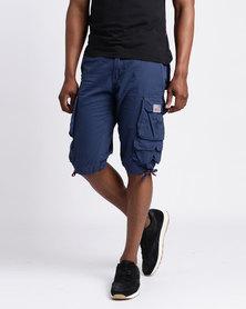 Cutty CMortar Multi Pocket Shorts Airforce Blue