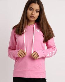 Lizzy Lukna Ladies Pullover Hoodie Pink