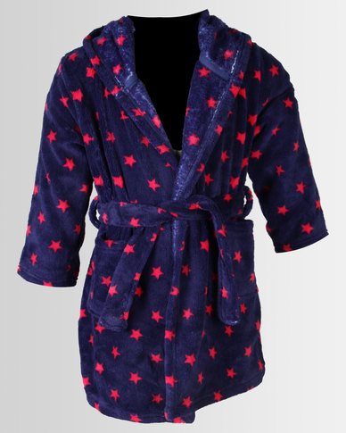Utopia Star Print Dressing Gown | Zando