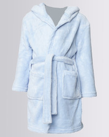 Utopia Pastel Hooded Gown LT blue