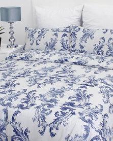 Sheraton Layla Duvet Cover Blue