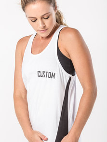 Custom Apparel Core Vest – White