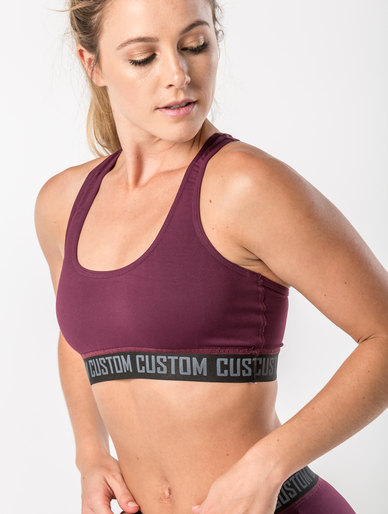 02b705f0e74 Custom Apparel Crop Top Burgundy | Zando