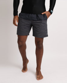Billabong Unite Stretch Elastic Walkshort Charcoal