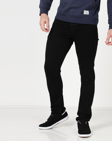 Life & Glory Basicon Stretch Jeans Black