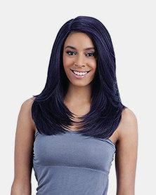 Freetress Equal Deep Invisible L Part Lace Front Wig Jannie Purple Black