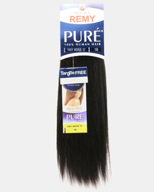 "MilkyWay Pure Remy Pure Yaky Weave 100% Human Hair 10"" 2 Dark Brown"